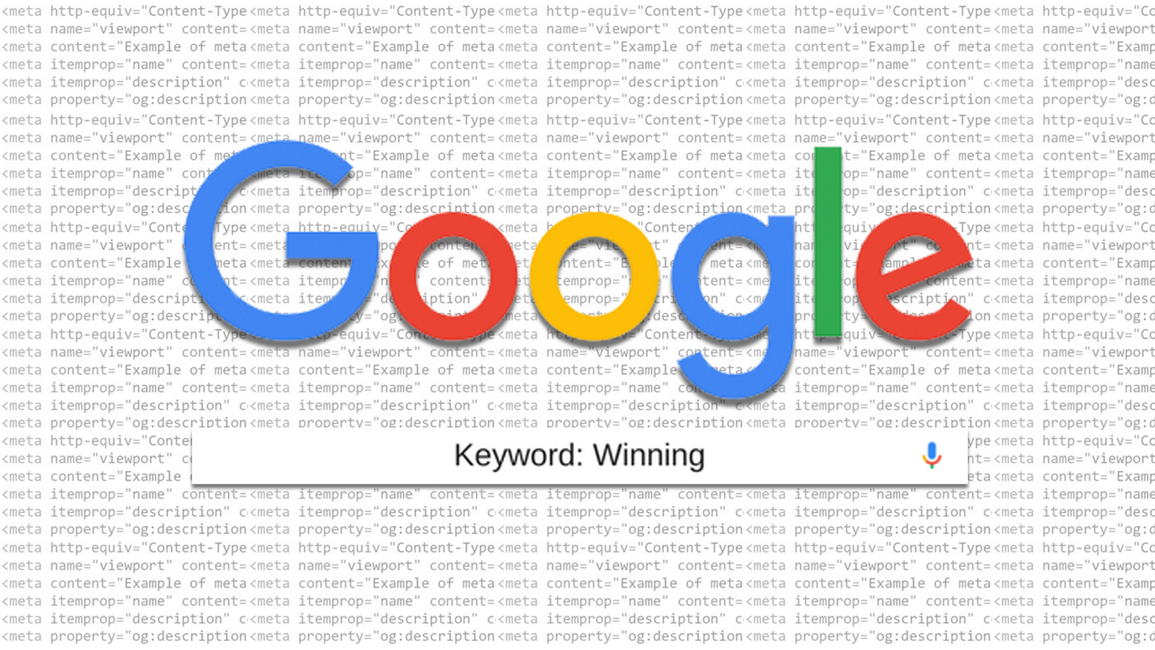 google keyword winning blog post