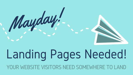 Landing pages needed