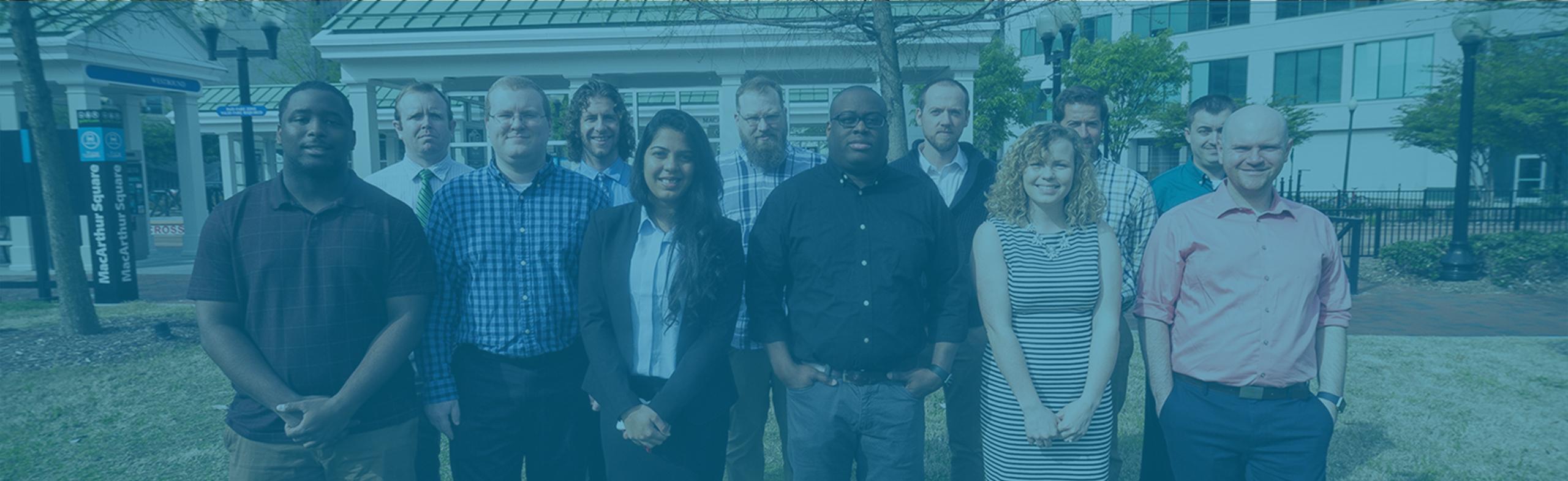 CWS Development Team Members Standing