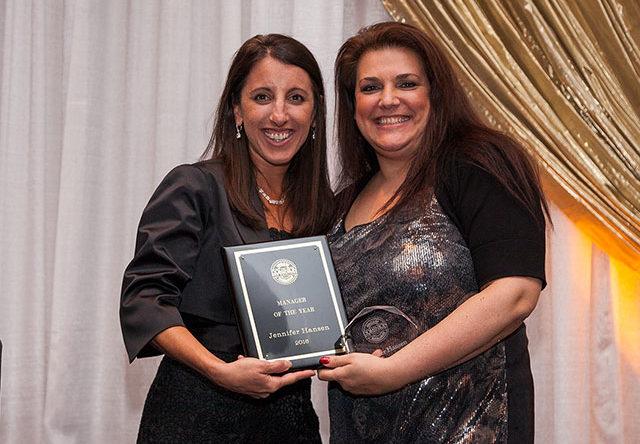 Jen Hansen - Customer Service Manager of the Year