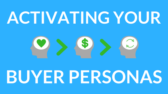 Blog Post on Activating your buyer personas