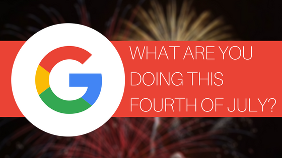 What Are You Doing This Fourth of July Google Results