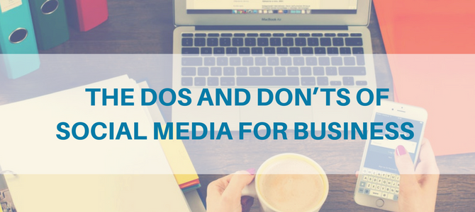 Social Dos and Don'ts