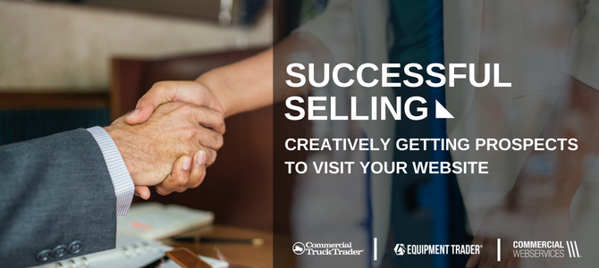Creatively Getting Prospects to Your Website